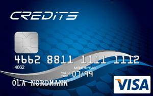 Credits Visa - visakort