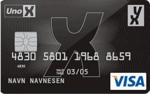 YX Visa bensinkort