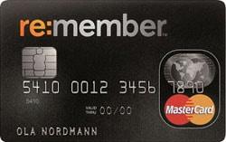 remember mastercard kredittkort