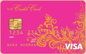 Vip kredittkort - Vip credit card rosa