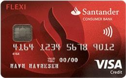 FlexiVisa kredittkort