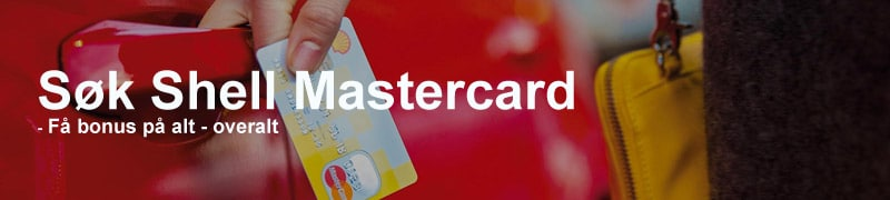 Søk Shell Mastercard
