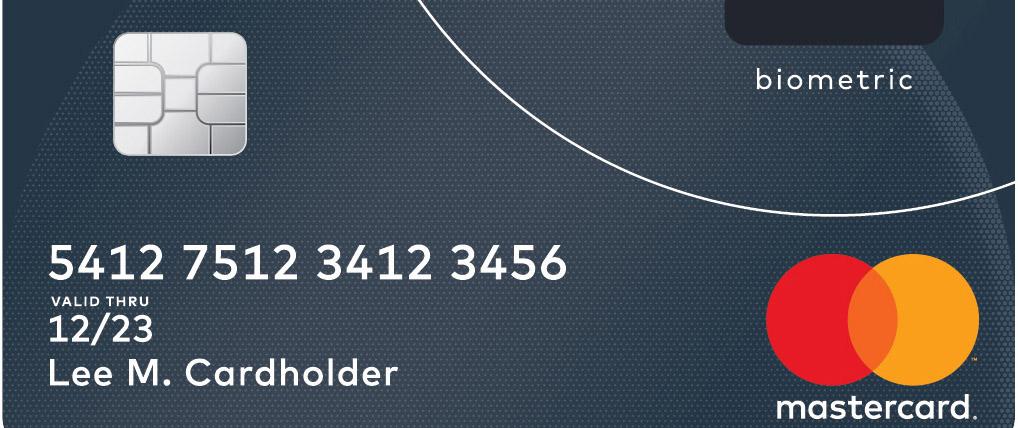 mastercard biometrisk kredittkort betalkort