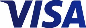 Visa kort logo